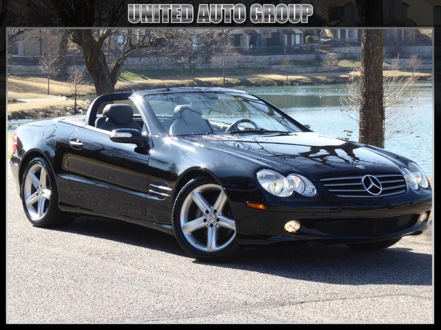 2006 Mercedes-Benz SL500 ROADSTER PII PKG NAVIGATION, HEATED/COOLED SEATS, PUSH START, HID LIGHTS, 1