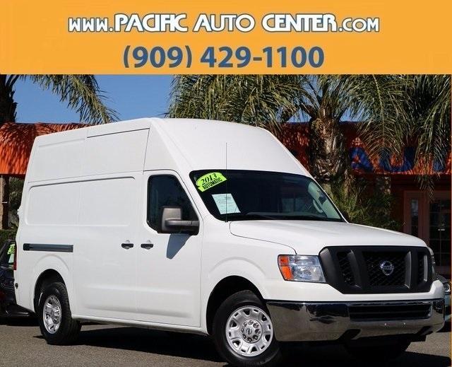 2013 Nissan Nv2500 Hd Cargo Van