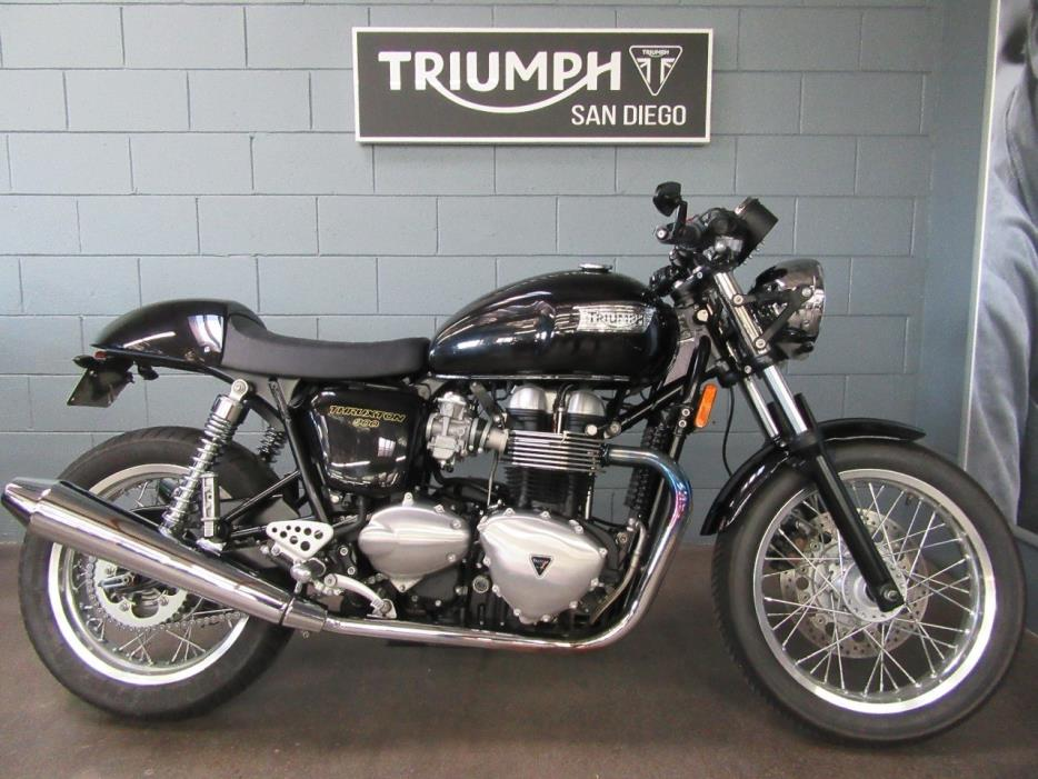 triumph thruxton motorcycles for sale in san diego california. Black Bedroom Furniture Sets. Home Design Ideas
