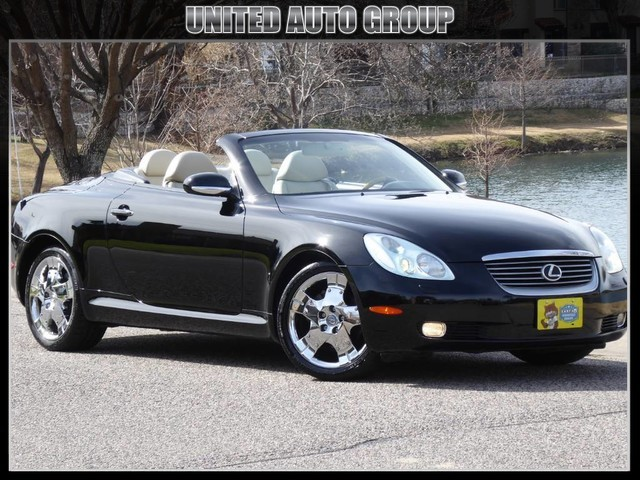 2004 Lexus SC 430 NAVIGATION, HEATED/COOLED SEATS, CHROME WHEELS, TIMING BELT REPL