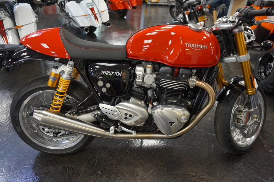 triumph thruxton motorcycles for sale in new jersey. Black Bedroom Furniture Sets. Home Design Ideas