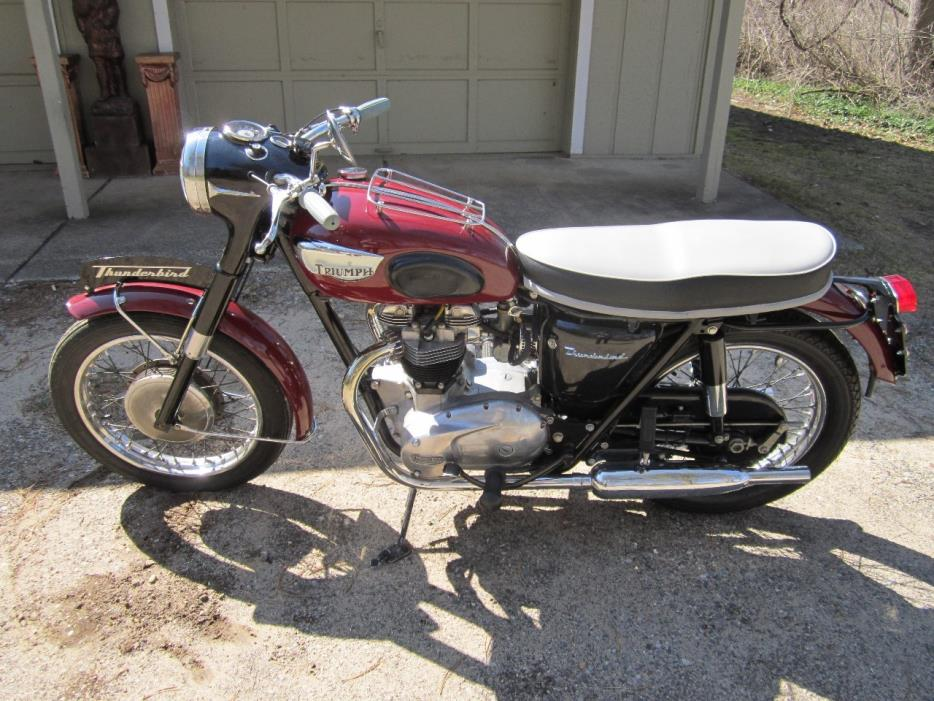 1966 Triumph THUNDERBIRD