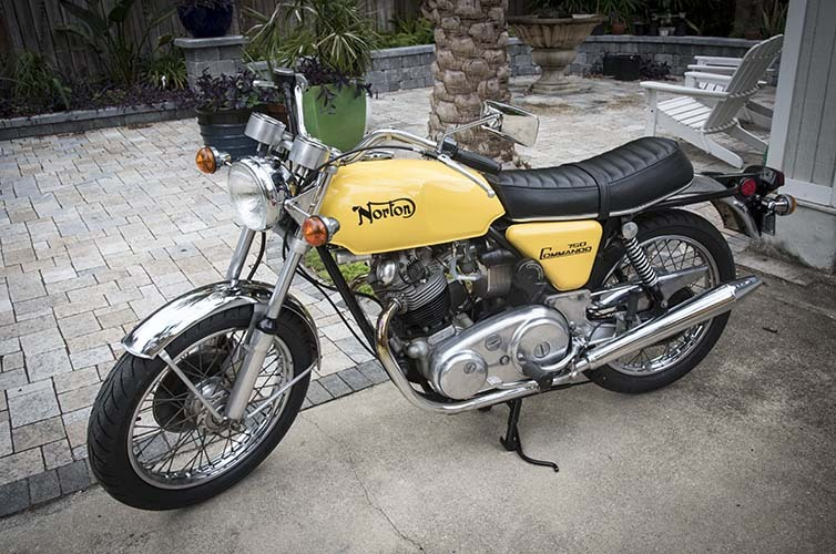 1972 Norton COMMANDO 750