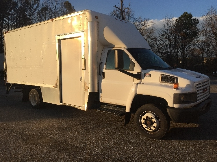 2009 Gmc C5v042 Box Truck - Straight Truck