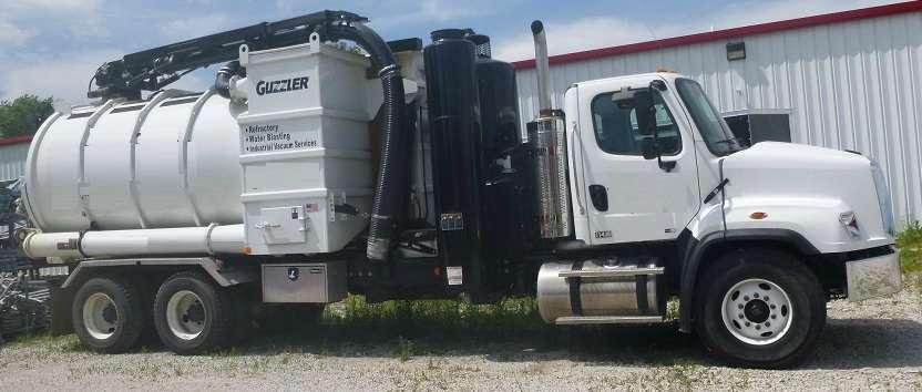 2015 Guzzler Cl Industrial Vacuum Loader Tanker Trailer