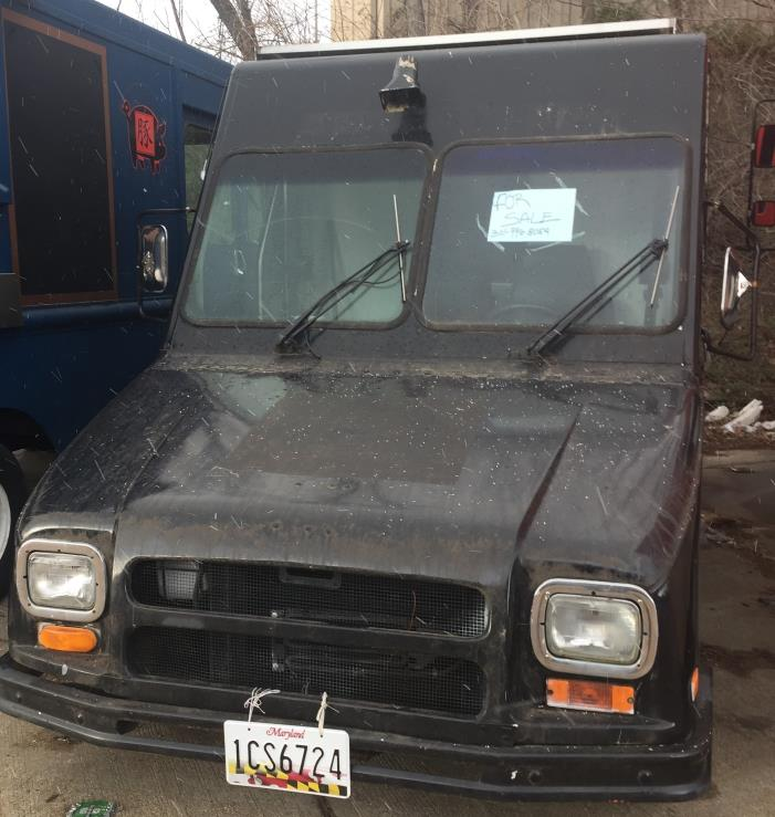 1993 Utilimaster Aeromate  Catering Truck - Food Truck