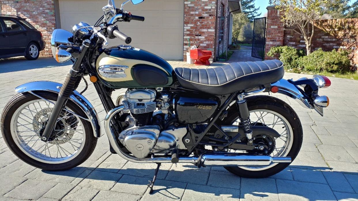2001 Kawasaki W 650