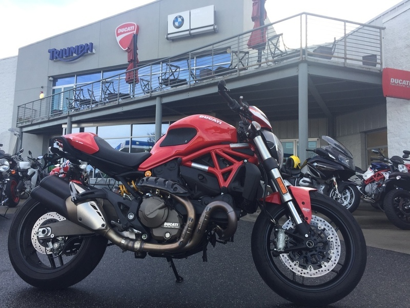 2015 Ducati Monster 821 Red with Stripe Livery