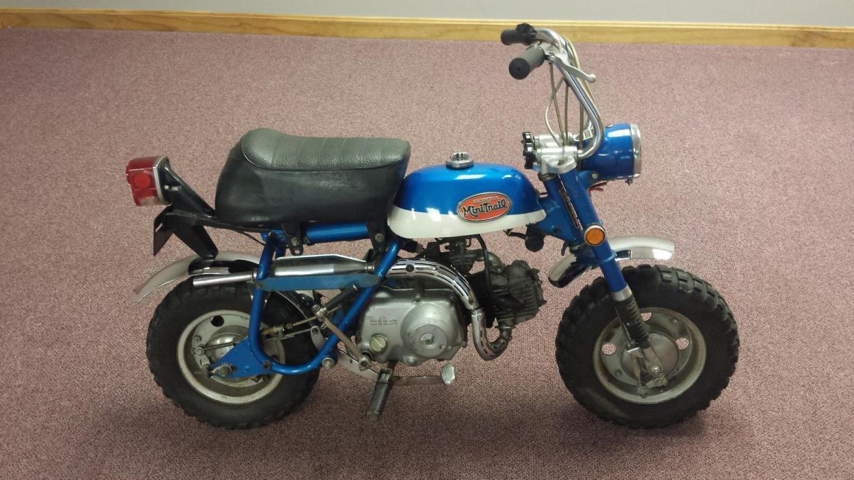1971 Honda Mini Trail Motorcycles For Sale 1970 Ct70 Paint Colors 50