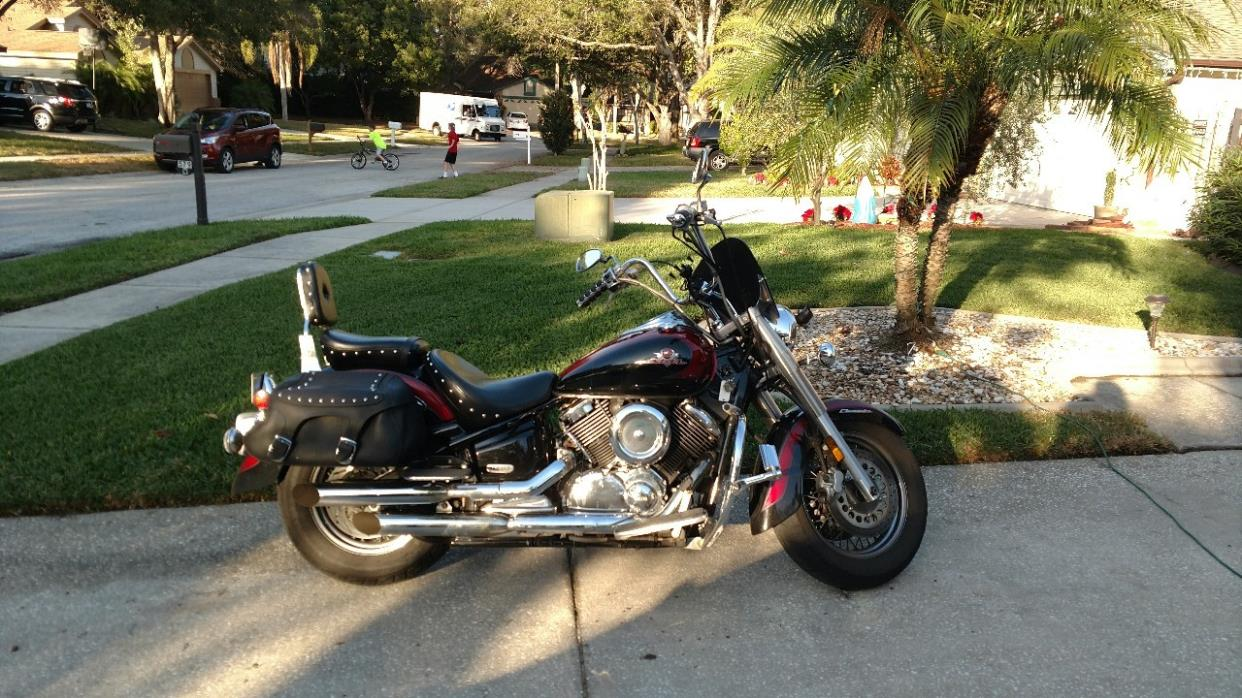 Yamaha 1100 motorcycles for sale in belleair bluffs florida for Yamaha motorcycle for sale florida