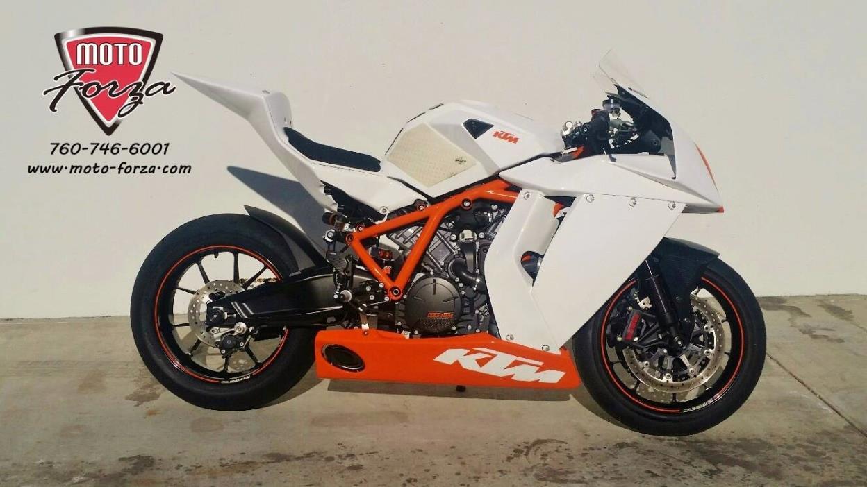 ktm 1190 rc8 r race motorcycles for sale. Black Bedroom Furniture Sets. Home Design Ideas