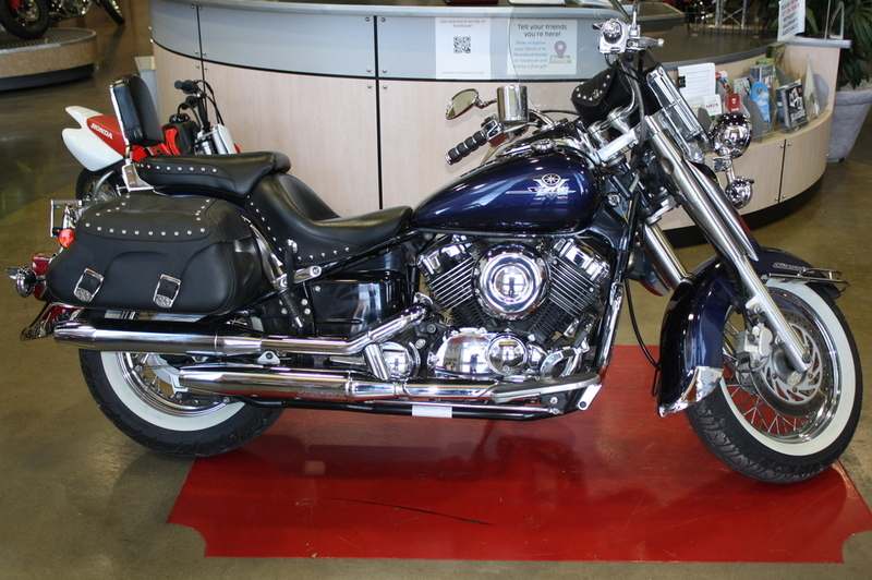 2002 Yamaha XV650 Classic