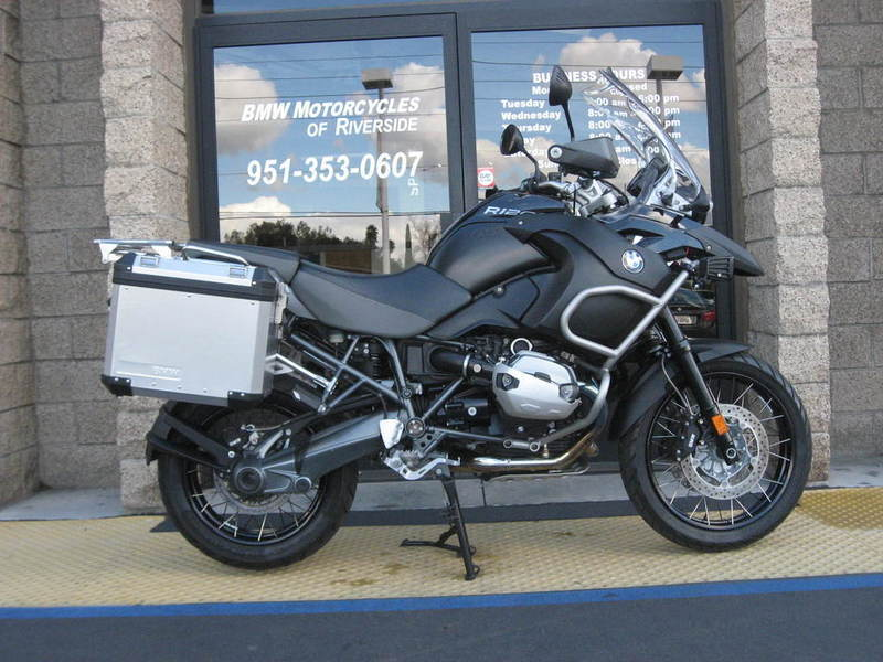bmw r 1200 gs adventure triple black edition motorcycles for sale