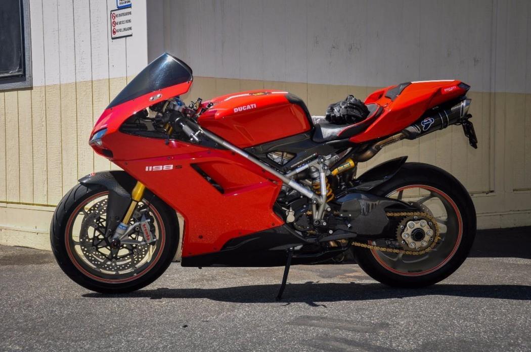 2009 Ducati SUPERBIKE 1198 S