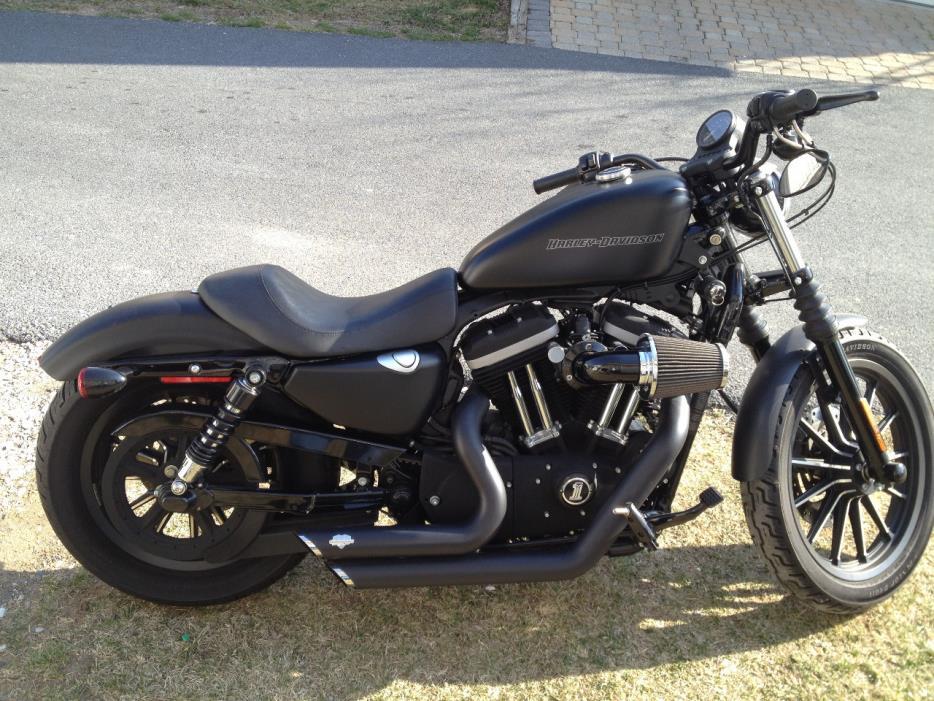 harley davidson sportster 883 motorcycles for sale in maryland. Black Bedroom Furniture Sets. Home Design Ideas