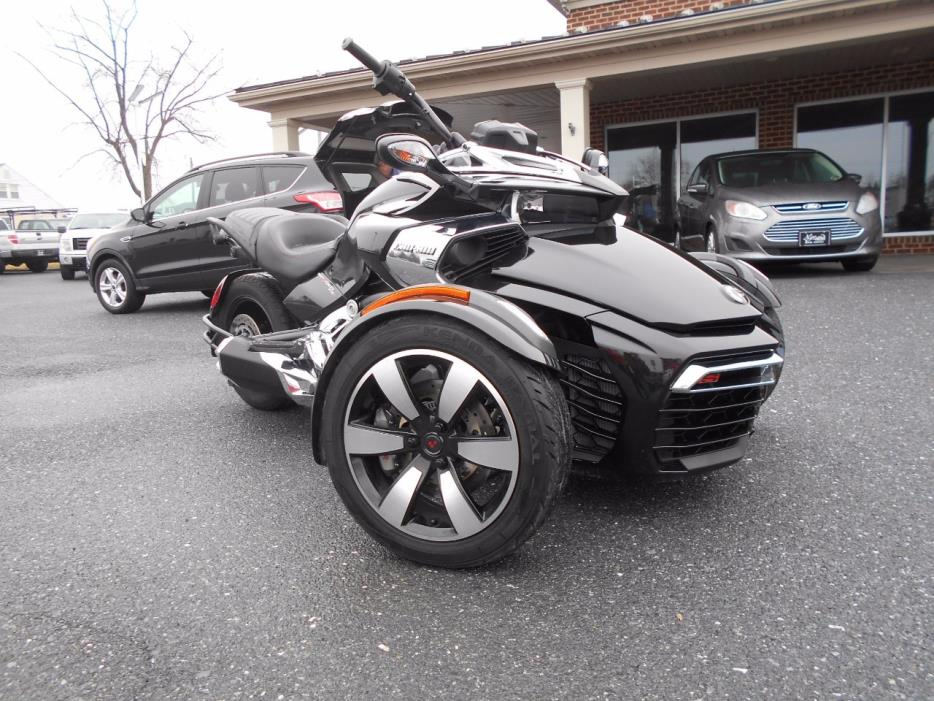 can am spyder f3 s motorcycles for sale in manheim pennsylvania. Black Bedroom Furniture Sets. Home Design Ideas