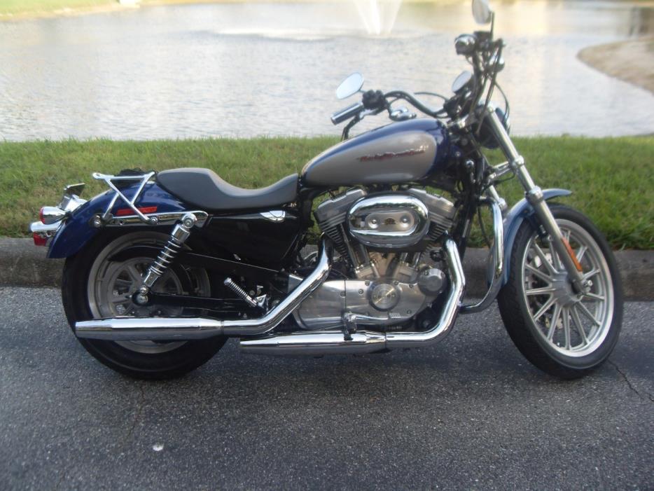 2007 harley davidson sportster 883 low motorcycles for sale. Black Bedroom Furniture Sets. Home Design Ideas