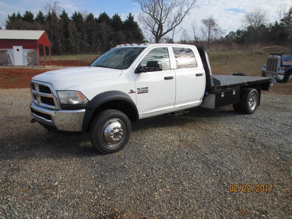 2014 Ram 4500 Flatbed Truck