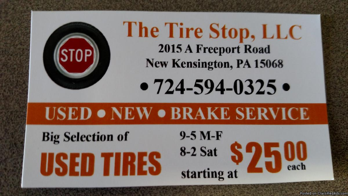 Tire Stop, llc (USED & NEW TIRES)