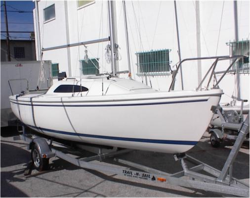 2017 Catalina 22 Sport Swing Keel