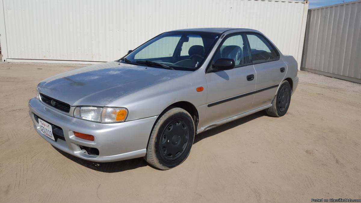 1999 Subaru Impreza