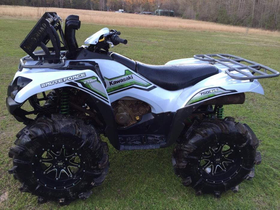kawasaki brute force 750 4x4i eps white motorcycles for sale. Black Bedroom Furniture Sets. Home Design Ideas