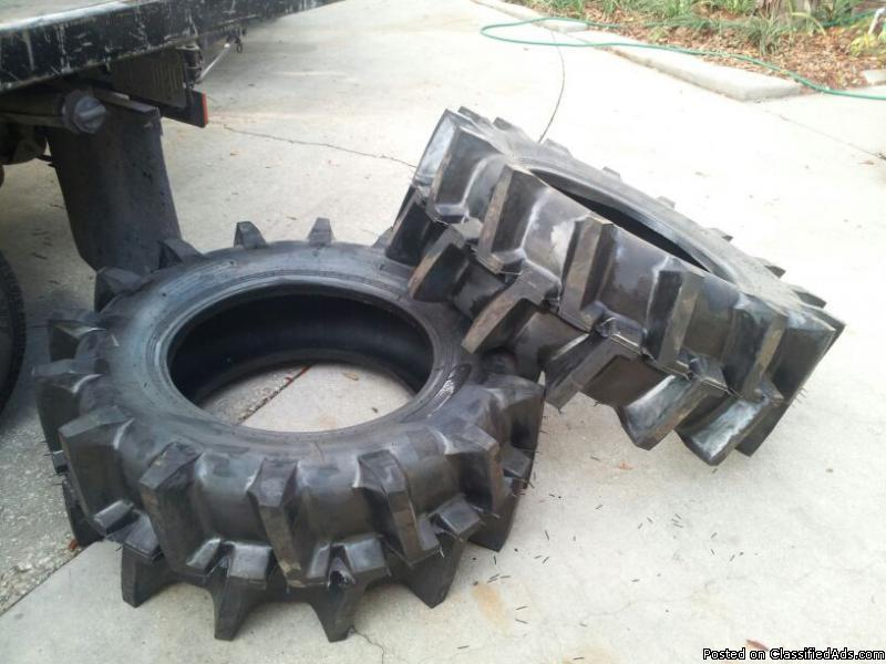 R2 rice paddy tractor tires 14.9-24 $2550