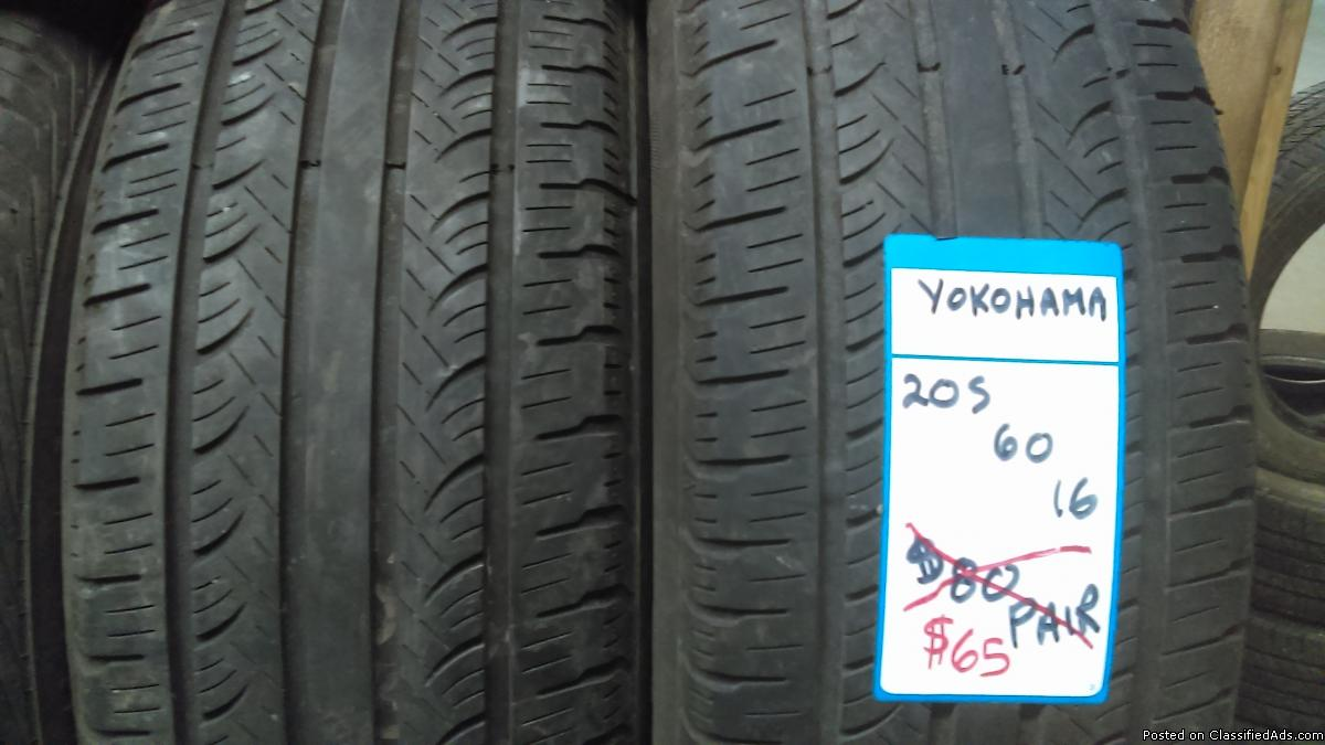 205 60 16 used tires