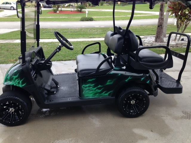 2014 E-Z-Go GOLF CART