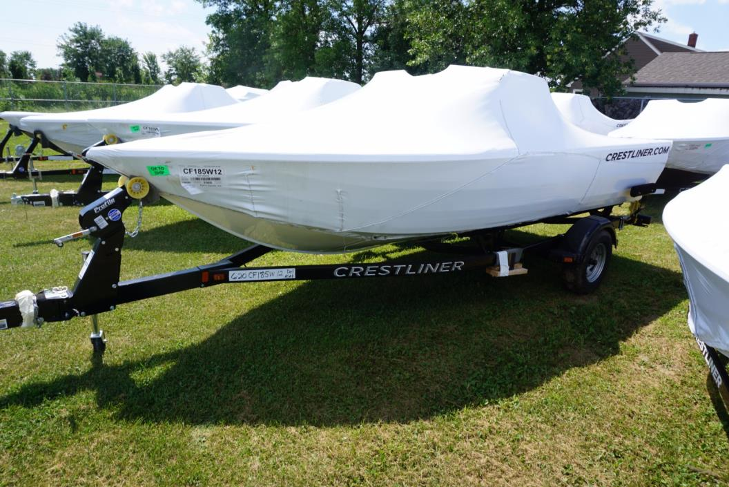 2016 Crestliner 1850 Fish Hawk WT