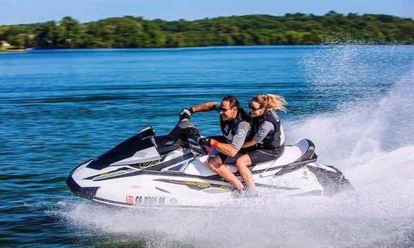2017 Yamaha VX Cruiser HO White