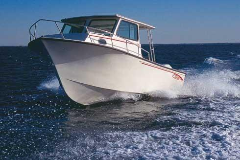 2005 May-Craft 2550 Pilothouse Cabin