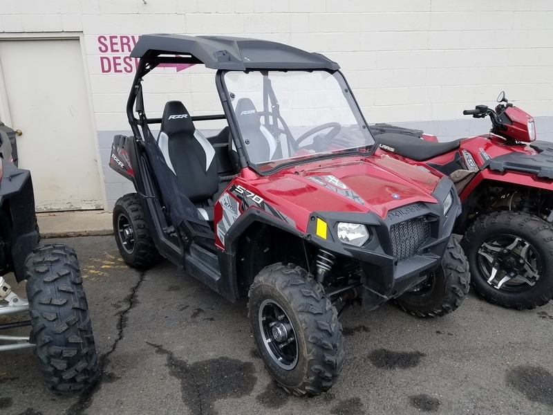 Polaris Rzr 570 Eps Sunset Red Vehicles For Sale