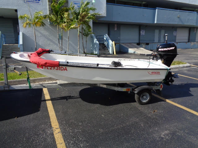 1977 Boston Whaler Tender 11