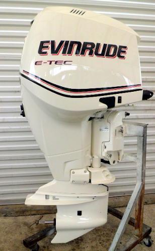 """2010 EVINRUDE E-TEC 250hp 25"""" Shaft DI 2-Stroke Outboard Motor w/ War, 1"""