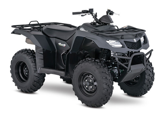 2017 Suzuki KINGQUAD 400 ASI SPECIAL EDITION SOLID MATTE SWORD BLAC