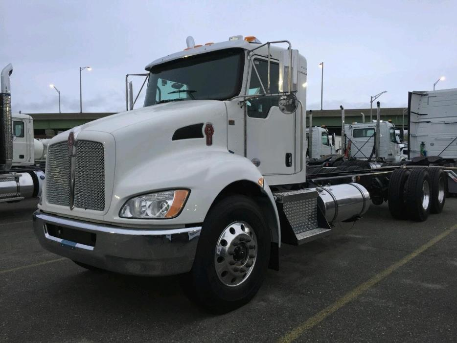 2017 Kenworth T370  Conventional - Day Cab