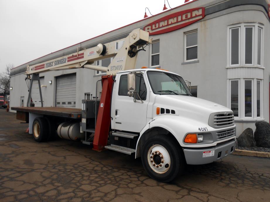 2001 Terex Bt3400 Bucket Truck - Boom Truck