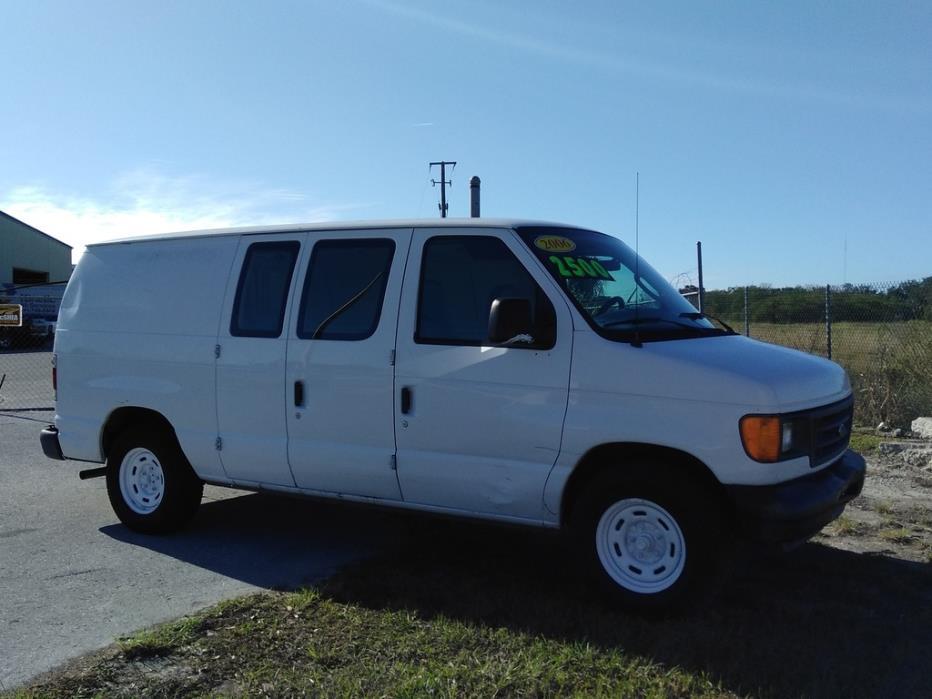 2006 Ford E-150 Cargo Van  Van