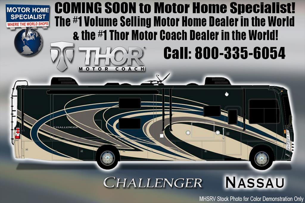 2018 Thor Motor Coach Challenger 37KT RV for Sale at MHSRV W/ Theater Seats &