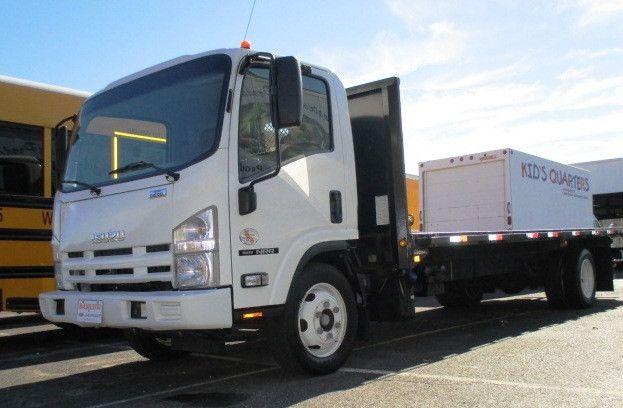 2011 Isuzu Npr Flatbed Truck