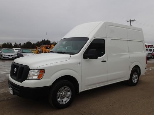 2012 Nissan Nv2500 Hd Cargo Van