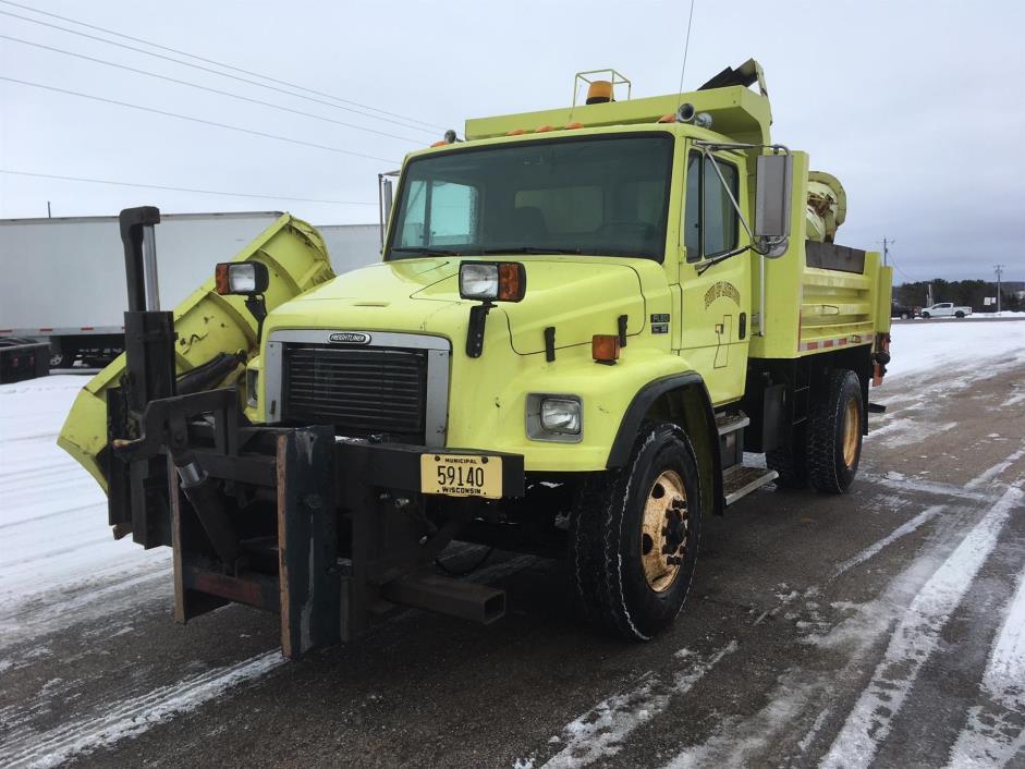 2002 Freightliner Fl80 Plow Truck - Spreader Truck