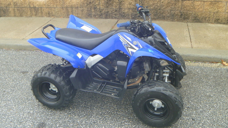Yamaha raptor 90 motorcycles for sale in delaware for 2011 yamaha raptor 90 for sale