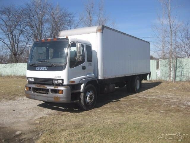 2004 Isuzu Fvr Box Truck - Straight Truck