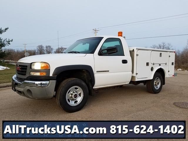 2003 Gmc 2500 Hd Utility Truck - Service Truck