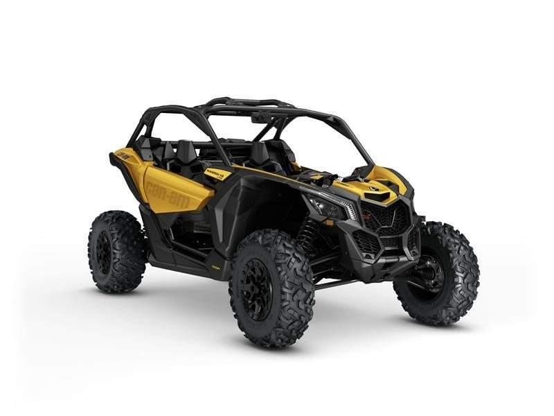 2017 Can-Am Maverick X3 X ds Turbo R Circuit Yellow