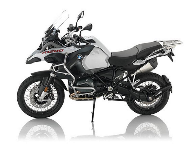 2017 BMW R 1200 GS Adventure Premium Light White