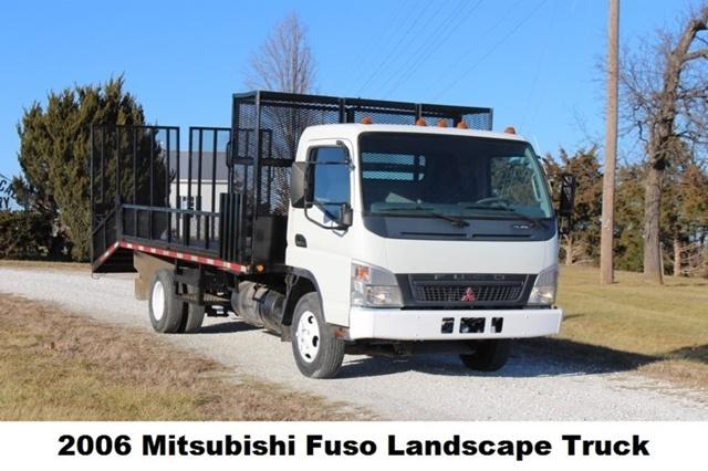 2006 Mitsubishi Fuso Fe84d  Flatbed Truck