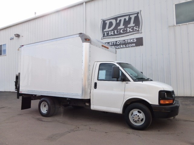 2012 Chevrolet Express G3500 Box Truck - Straight Truck